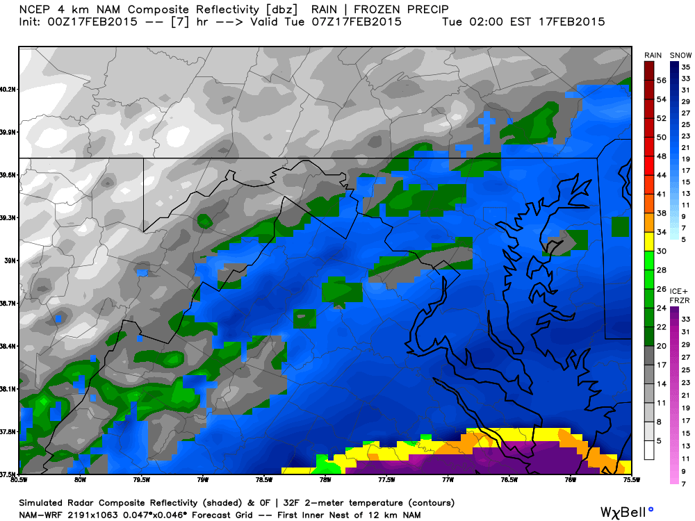 Latest NAM 12AM