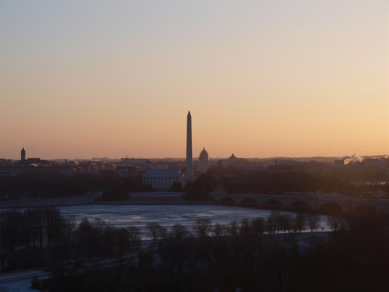 Icy Potomac at Sunrise; Image courtesy