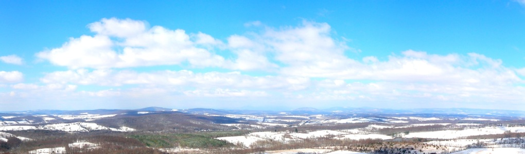 View from Bull Run Mountains in Northern Virginia after a March Snowfall (Image courtesy Jason S.)