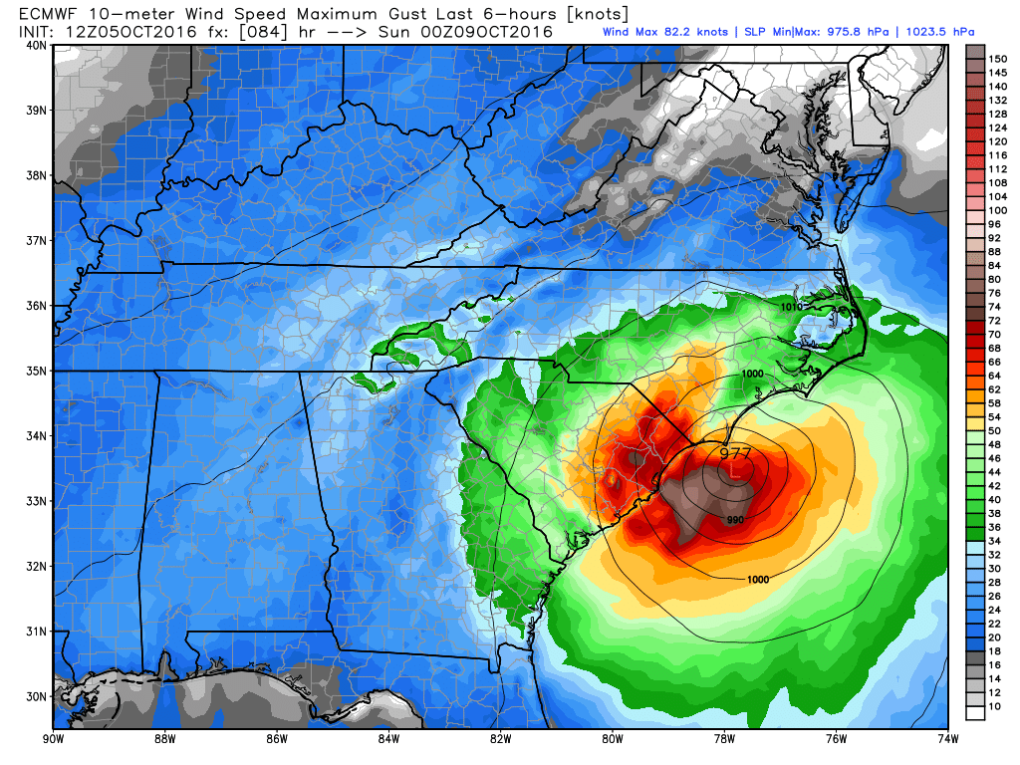 ecmwf_uv10g_nc_15_Saturday_7PM.png